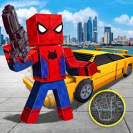 方块蜘蛛侠英雄游戏中文破解版v1.0