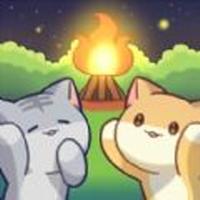 猫咪森林治愈露营无限材料版v1.1 安卓版