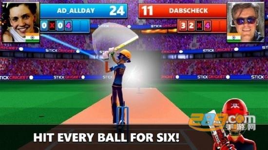 Stick Cricket Live棒球手游