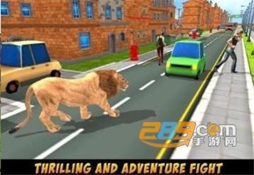 狂野狮子城市破坏游戏官方版