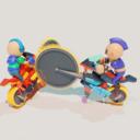 锯车大乱斗游戏最新手机版v1.0.0安卓版