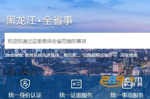黑龙江全省事政务服务app