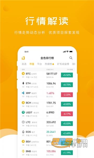 金色财经区块链资讯新闻app