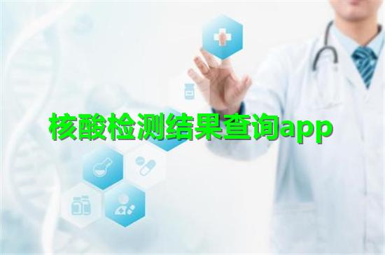 核酸�z�y�Y果查�app