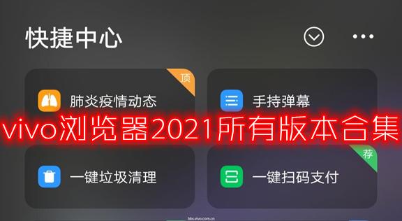 vivo浏览器2021所有版本合集