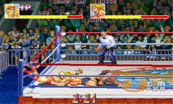 摔跤霸王街机移植手机版