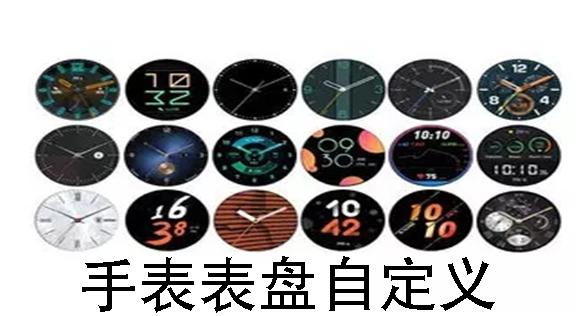 手表表盘自定义