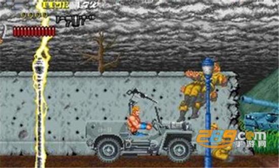 雷狐战士街机游戏手机完美移植版