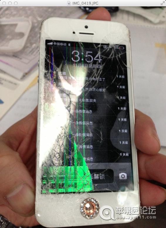 苹果5手机自己手工换屏幕的方法图文教程