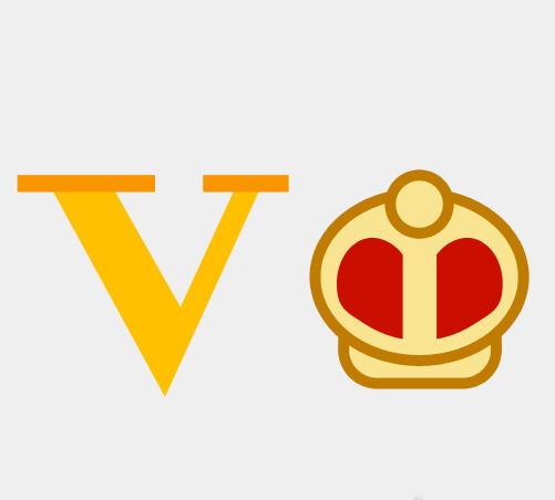 疯狂猜图1.2版中一个大v和一个皇冠猜一个四字品牌_掌