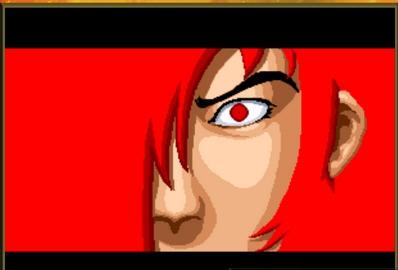 手绘高清壁纸红色人物