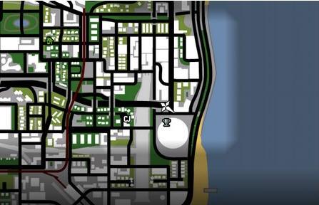 侠盗猎车手圣安地列斯怎么标记地图的方法