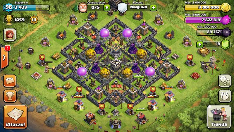 Coc Defense Th 9 Base