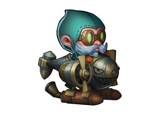 新增英雄:矮人直升机 英雄定位:后排输出型英雄