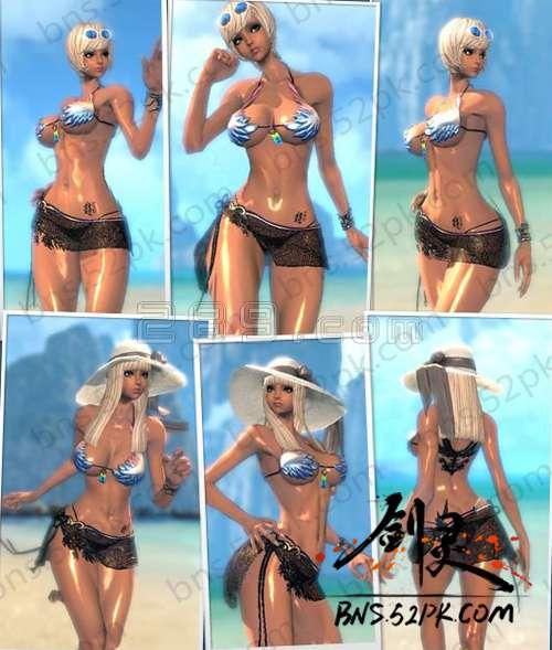剑灵泳装怎么得 泳装时装之全种族图片一览