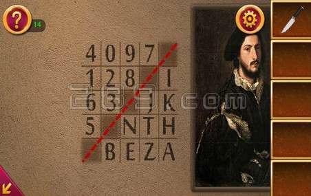 背后逃脱6第8关过密室密码的攻略陕西省v背后画像图片