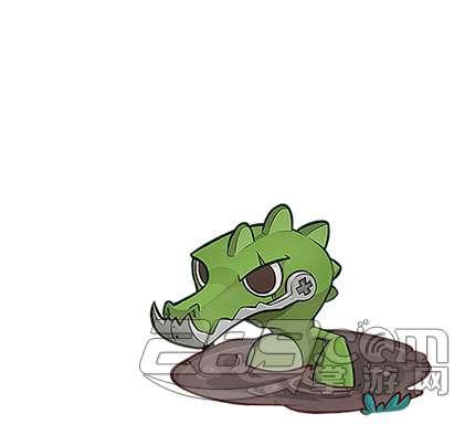 超能动物联盟动物塔大全之大嘴鳄