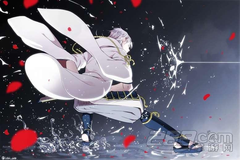 《刀剑乱舞》--鹤丸国永p站美图分享