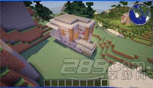 我的世界手机版0.13.1石头小屋建造教程