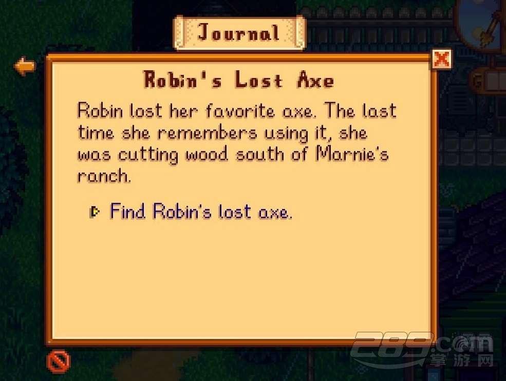 所以很多小伙伴不知道星露谷物语罗宾的斧头在哪里