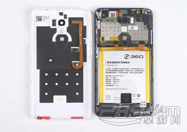 360n4手机拆机图解评测