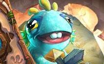 炉石传说7月份奖励卡背是什么 鱼人宝宝卡背什么样子