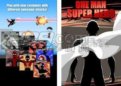 和一拳超人打败敌人 《一个人的超级英雄》登陆手机平台