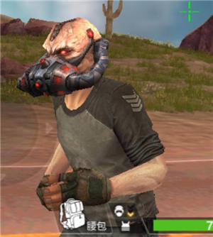 (装术备仅在荒岛特训模式生效,替换所有种类的头盔效果) 第三视角效果