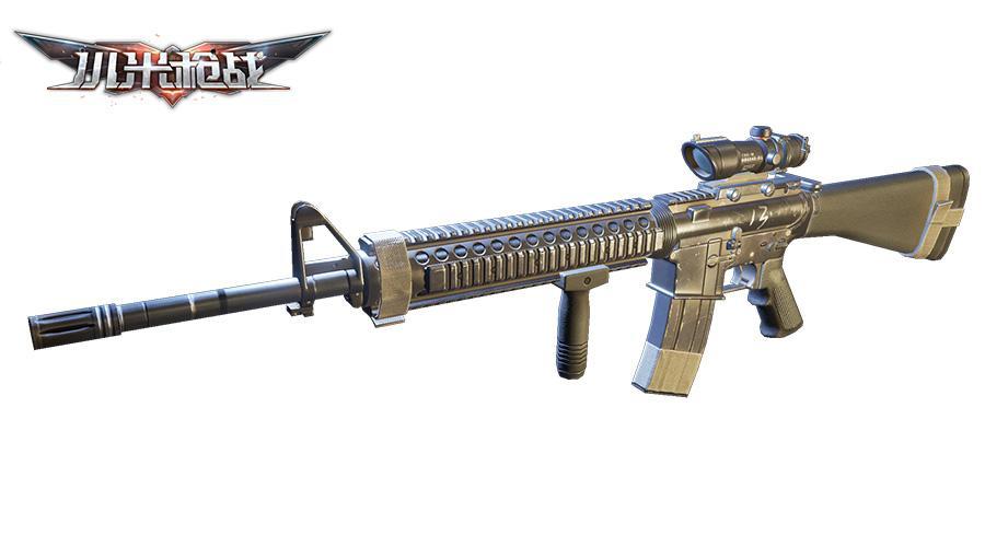 枪械测评高稳定远射程M16A4