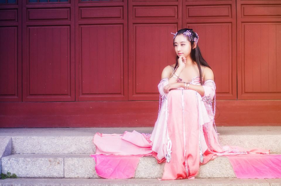 古装美女美若天仙,最美女剑客