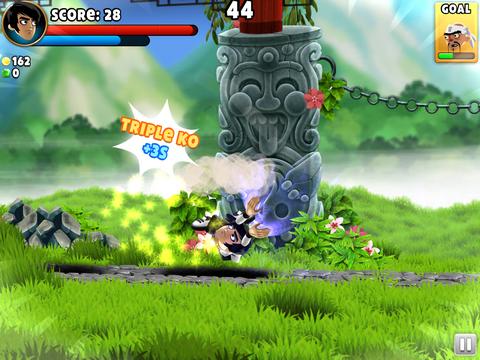游戏采用 2d 横版画面,从背景到人物设定都充满了清新的中国武侠风