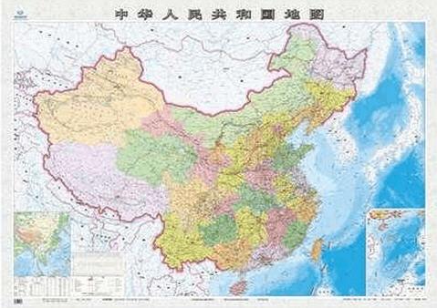 ios数据包 > 中国竖版地图高清大图图片   三沙市成立了,中国地图也到