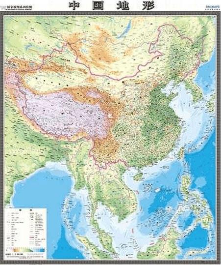 中国竖版地图高清大图下载_中国竖版地图最新版手机版