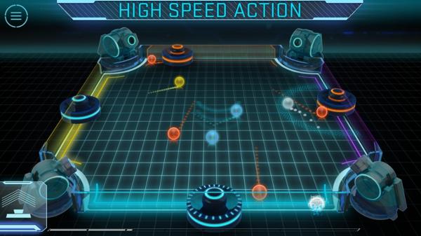 四人冰球_3d炫光冰球 glow hockey 3d