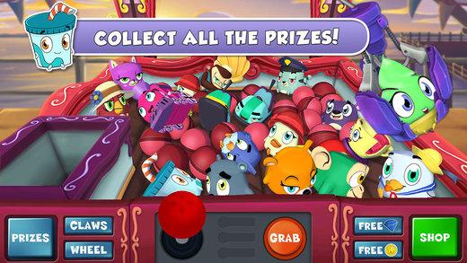 可爱娃娃机2 Prize Claw 2是一款模拟投币玩具抓取机的游戏,不仅还原了街机所有的功能,还添加了很多独特的玩法。你可以收集硬币来升级你的机器爪,甚至还可以自定义机器外观,解锁究极技能和更多种类的娃娃。抓到的娃娃越多,得到的奖励就越多,奖励的玩具还可以用来装饰游戏自带的房间里,非常有成就感。 此外,游戏还有无尽任务模式等你挑战。《可爱娃娃机2》已经免费上架,现在小伙伴们不用跑去商场玩娃娃机,随时随地都可以体验抓娃娃的乐趣啦!!