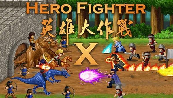 英雄大作战0.8下载_英雄大作战x官方下载_英雄大作战x hero fighter x版
