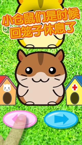 是一款开心快乐可爱q版动物大本营休闲游戏,小仓鼠们又到时候回笼子休