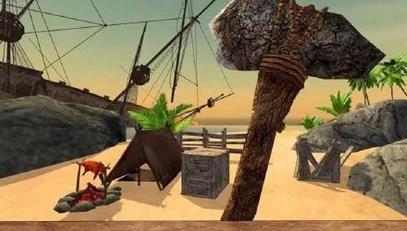 3d)是一款荒岛求生的游戏
