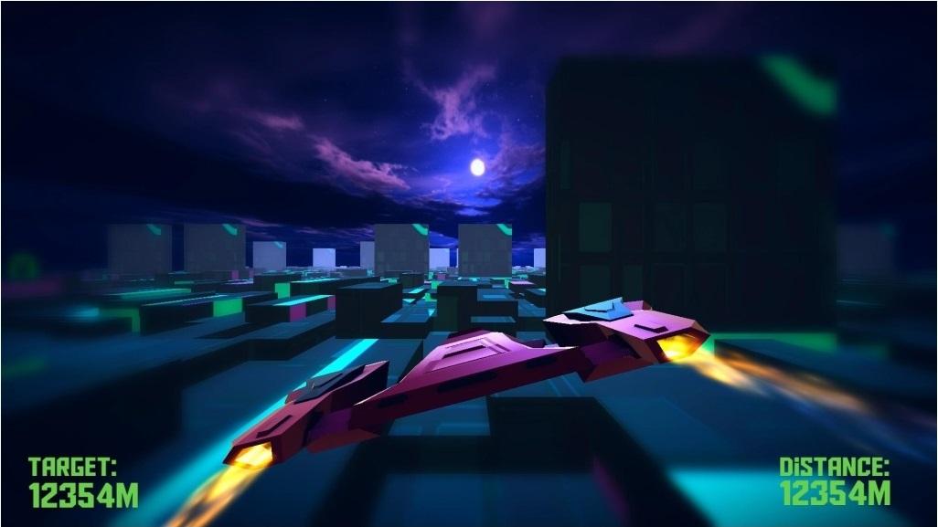 游戏,玩家将驾驶一架拉风的飞机在高楼林立的城市里