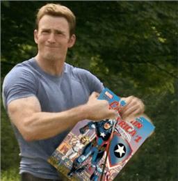 美国队长搞笑表情包下载图片