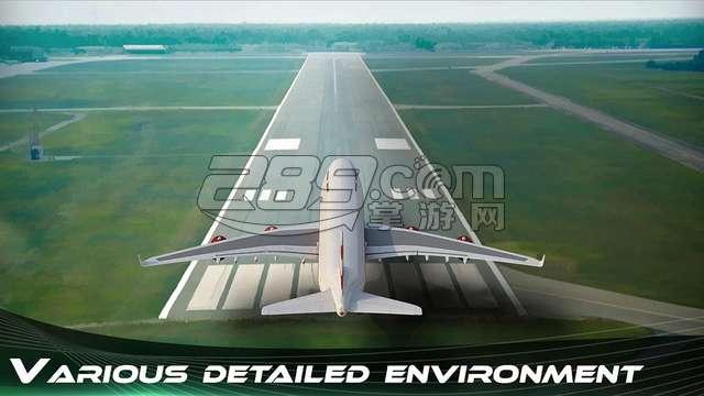 飞机飞行模拟器(vr airplane flying simulator)