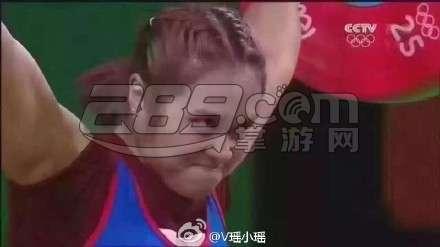 泰国罗志祥举重表情包图片
